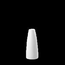 Churchill Bamboo Bud Vase White 12.5cm