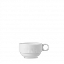 Churchill Bamboo Stacking Cup White 16cl