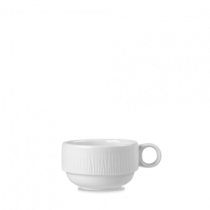 Churchill Bamboo Stacking Cup White 20cl