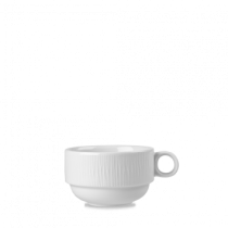 Churchill Bamboo Stacking Cup White 28cl