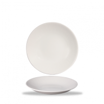 Churchill Bamboo Deep Coupe Plate White 22.5cm