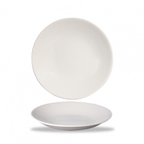 Churchill Bamboo Deep Coupe Plate White 25.5cm