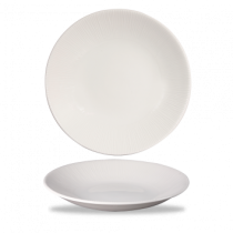 Churchill Bamboo Deep Coupe Plate White 28.1cm