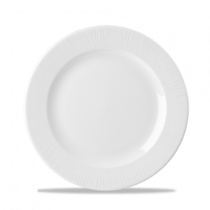 Churchill Bamboo Footed Plate White 26.1cm