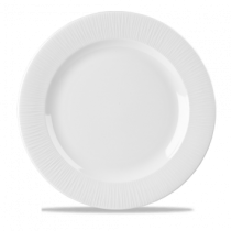 Churchill Bamboo Footed Plate White 30.5cm