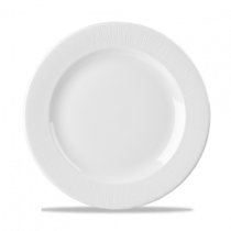 Churchill Bamboo Footed Plate White 27.6cm