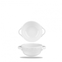 Churchill Bamboo Handled Stacking Bowl White 37.7cl