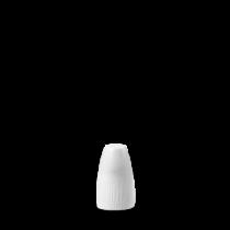 Churchill Bamboo Pepper Shaker White 7cm