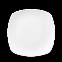 Churchill Bamboo Square Plate White 22cm