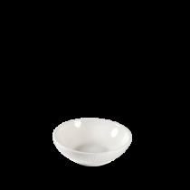 Churchill Bamboo Shallow Bowl White 11.6cm