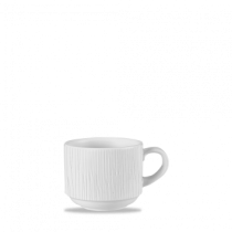 Churchill Bamboo Stacking Cup White 22cl