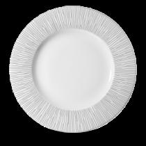 Churchill Bamboo Wide Rim Plate White 30.5cm