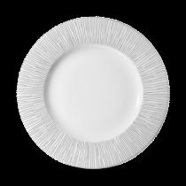 Churchill Bamboo Wide Rim Plate White 23.6cm
