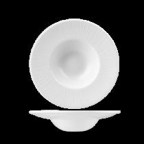 Churchill Bamboo Wide Rim Bowl White 21.6cm