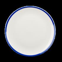 Churchill Retro Blue Coupe Plate 26cm