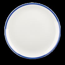 Churchill Retro Blue Coupe Plate 28.8cm