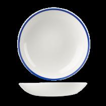 Churchill Retro Blue Coupe Bowl 24.8cm