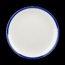 Churchill Retro Blue Coupe Plate 21.7cm