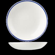Churchill Retro Blue Coupe Bowl 31cm