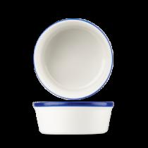 Churchill Retro Blue Round Pie Dish 13.5cm