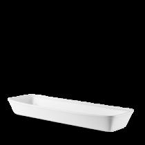 Churchill Counter Serve Rectangular Baking Tray White 53 x 16 x 6.2cm