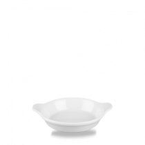 Churchill Cookware Mini Round Eared Dish White 12.5 x 15.2cm