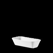 Churchill Counter Serve Rectangular Baking Tray White 12 x 25 x 6.2cm