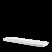 Churchill Counter Serve Flat Tray White 53 x 15 x 2.5cm