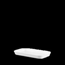 Churchill Counter Serve Flat Tray White 25 x 14 x 2.5cm