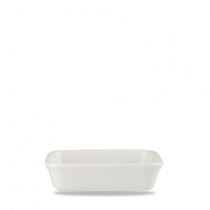 Churchill Cookware Shallow Rectangular Dish White 15.5 x 11.5 x 4cm