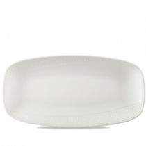 Churchill Isla White Oblong Plate 29.5 x 15cm