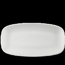 Churchill Isla White Oblong Plate 35.5 x 18.9cm
