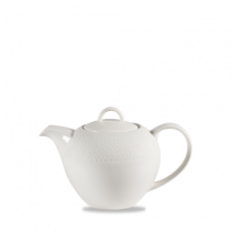 Churchill Isla White Tea Pots 85.2cl / 30oz