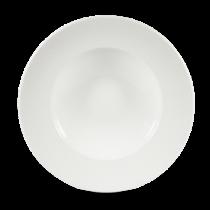 Churchill Isla White Wide Rim Bowl 28cm