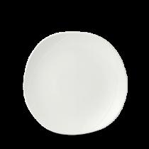 Churchill Isla White Organic Round Plate 26.4cm