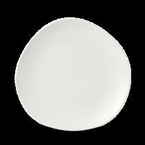 Churchill Isla White Organic Round Plate 28.6cm