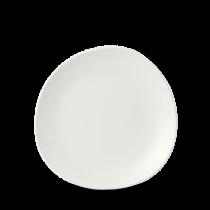 Churchill Isla White Organic Round Plate 21cm