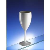 Premium Unbreakable Wine Glasses White 12oz / 340ml