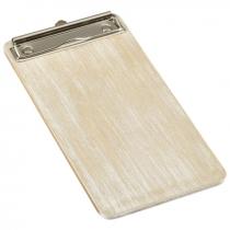 Wooden Menu Clipboard White 13 x 24.5 x 0.6cm