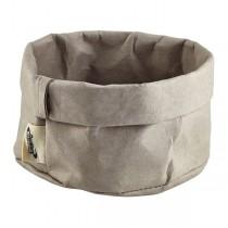 Grey Washable Paper Bag 13 x 10cm