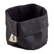 Black Washable Paper Bag 7 x 6cm