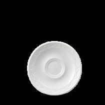 Churchill Chateau Mocha / Coffee Saucers White 13.6cm