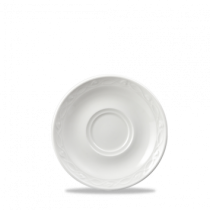 Churchill Chateau Consomme Plates White 15.3cm