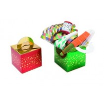 Red/Green Stars Christmas Party Box