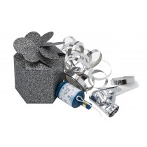 Gunmetal Sparkle Party Box
