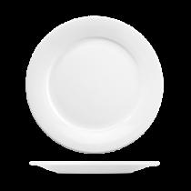 Churchill Art de Cuisine Menu Porcelain Mid Rim Plate 25.4cm