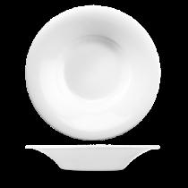 Churchill Art de Cuisine Broad Menu Porcelain Rim Pasta Bowl 28cl 10oz