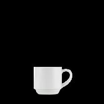 Churchill Art de Cuisine Menu Porcelain Stacking Cup 21cl