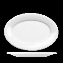 Churchill Art de Cuisine Menu Porcelain Oval Plate 26.7cm