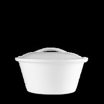 Churchill Art de Cuisine Menu Porcelain Lidded Casserole Dish 17cm